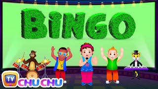 getlinkyoutube.com-Bingo Dog Song - Nursery Rhymes Karaoke Songs For Children | ChuChu TV Rock 'n' Roll