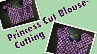 getlinkyoutube.com-Princess Cut Blouse - Part 1 - Cutting