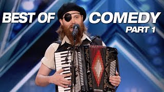 LOL! Some Of The Best Comedians Ever! - America's Got Talent 2018