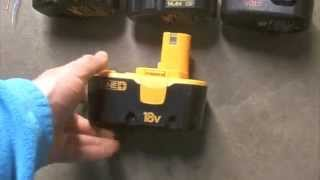 getlinkyoutube.com-How to bring a Dead battery back to life revive / rejuvenate / fix rechargeable NiCd battery