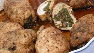 getlinkyoutube.com-فيليه دجاج محشي - مطبخ منال العالم