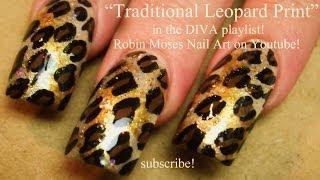 getlinkyoutube.com-Easy Traditional Leopard Print Nails | Animal DIVA Nail Art Tutorial