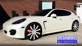 "getlinkyoutube.com-Porsche Panamera Turbo | 22"" Forgiato Wheels | Tre Mason | St. Louis Rams"