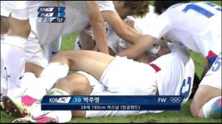 getlinkyoutube.com-런던올림픽 한일전 박주영 골