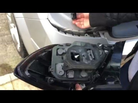 Changing Astra H Rear Cluster Lights