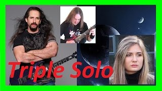 """getlinkyoutube.com-TRIPLE SOLO, Tina S, John Petrucci & Dr Viossy - Dream Theater """"The Best of Times"""""""