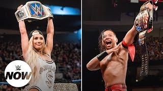 What's going on with Shinsuke Nakamura and Carmella on Twitter?: WWE Now width=