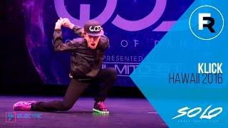 getlinkyoutube.com-Klick | SOLO Dance Competition Winner | World of Dance Hawaii 2016 | #WODHI16