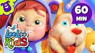 getlinkyoutube.com-Bingo - Beautiful Nursery Rhymes for Children from Hello Mr. Freckles | LooLoo Kids