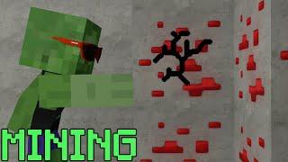 getlinkyoutube.com-Monster School: Mining - Minecraft Animation