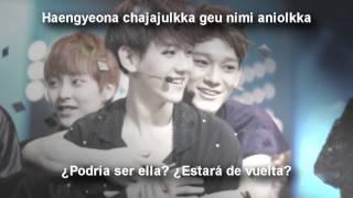 EXO [Baekhyun & Chen] Really I didn't know [Sub español + Romanización]