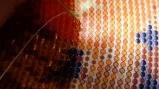 getlinkyoutube.com-вышивка бисером в круговой технике