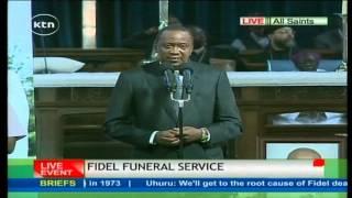 getlinkyoutube.com-President Uhuru Kenyatta eulogizes Fidel Odinga