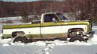 getlinkyoutube.com-K30 snow wheeling in Bristol hills NY