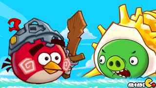 getlinkyoutube.com-Angry Birds Fight! - Chuck Legendary Set Item MONSTER SAZAE BOSS FOUND Part 84! iOS/iPad