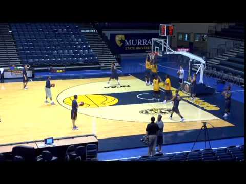 A Great Defensive Drill to Open Up Practice! - Basketball 2015 #53