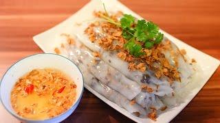 getlinkyoutube.com-Vietnamese Steamed Rice Rolls - Bánh Cuốn