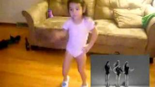 """getlinkyoutube.com-Arianna dancing to Beyonce's """"Single Ladies"""" (Picture-In-Picture)"""