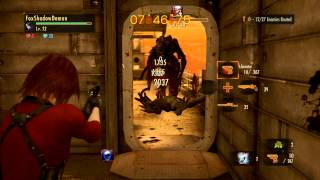 getlinkyoutube.com-Sniper Claire + Katana (Raid Mode) - Resident Evil Revelations 2