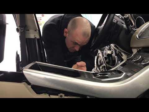 Как разобрать торпедо на Рэнж Ровер Эвок? Шумоизоляция Range Rover Evoque