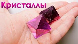 getlinkyoutube.com-Как самому вырастить фиолетовые кристаллы из соли? (химия)