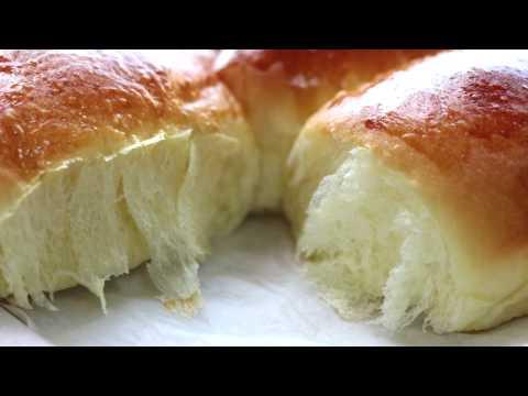 dinner rolls/milk bread recipe/bun/soft &chewy - Food At Home