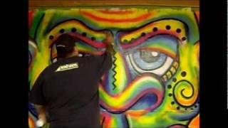 getlinkyoutube.com-Fluorescent Paint Graffiti