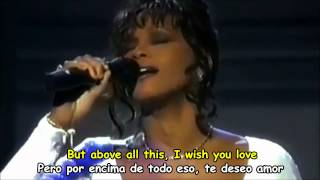 getlinkyoutube.com-WHITNEY HOUSTON - I WILL ALWAYS LOVE YOU - Subtitulos Español & Inglés
