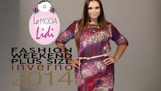 getlinkyoutube.com-La Moda Lidi - Desfile Fashion Weekend Plus Size INVERNO 2014 - 9ª Edição