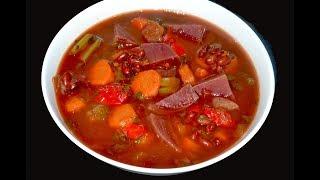 getlinkyoutube.com-Sopa para bajar el colesterol, para limpiar el colon, para la anemia y perder de peso