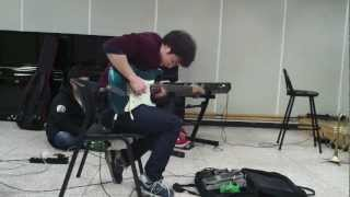 getlinkyoutube.com-Super Cool Guy Guitar solo #.1