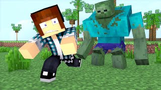 getlinkyoutube.com-Minecraft Mod: MUTANTE ZOMBIE SEM MODS (No Mods Minecraft)