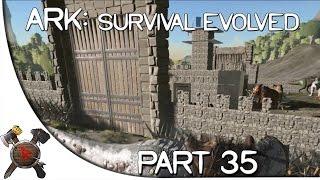 "getlinkyoutube.com-Ark: Survival Evolved Gameplay - Part 35: ""Enemy Castle!"" (Season 2 w/ Facecam)"