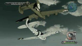 getlinkyoutube.com-Battlestations Pacific B-24 bombing / P-47 escort