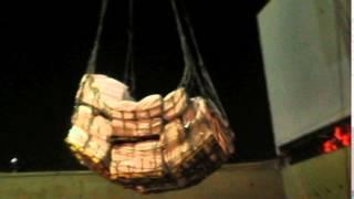 Bulk Grain Bag Loading - MV Sunshine