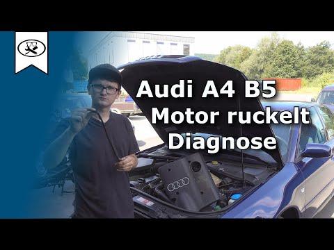 Audi A4 B5 Motor geht aus   engine goes off   Let's Work   4K