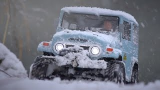 getlinkyoutube.com-MST CMX Toyota Land Cruiser 40 on a Frosty Winter Day