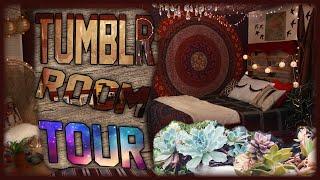 getlinkyoutube.com-Tumblr Room Tour! | Fall 2015 Room Tour! | Tumblr Inspired Bedroom For Teens!