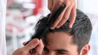 getlinkyoutube.com-Men's Haircut by rickyhodge