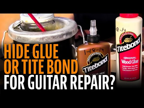 Hide glue or Titebond for guitar repair?