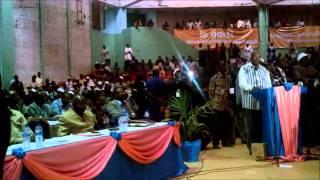 Le Discours du Président du MPP, Roch Marc Christian Kaboré