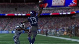 Can I Recreate the Famous Odell Beckham Catch!!??? Madden Gameplay
