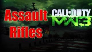 getlinkyoutube.com-Mw3 Guns Confirmed - Assault Rifles Modern Warfare 3 All Assault Weapons Breakdown