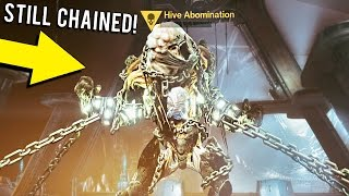 getlinkyoutube.com-How to Kill Phogoth/Hive Abomination Still Chained Up!