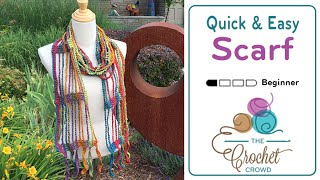 How To Crochet A Scarf: Quick & Easy width=