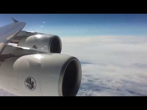 Rapid Descent of Airbus A380 from FL400