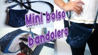 getlinkyoutube.com-Bolsito tipo BANDOLERA 👜  ❤ (Reutilizando telas ツ )