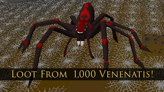 getlinkyoutube.com-Loot from 1,000 Venenatis kills
