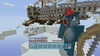 getlinkyoutube.com-Minecraft Xbox - Air Ship Battle Royal - Squid & Stampy Vs Amy Lee & Finnball