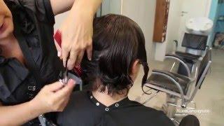 getlinkyoutube.com-Corte de cabelo curto cacheado
